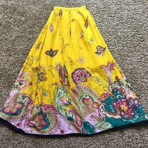 Women's Long Bohemian Skirt